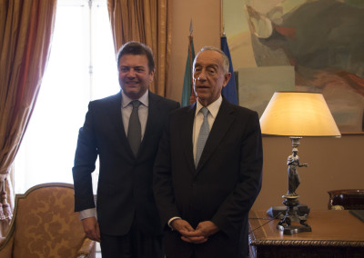 S. Exa. o Presidente da República, Professor Doutor Marcelo Rebelo de Sousa