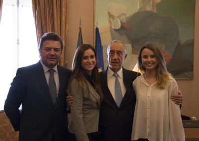 His Excellency the President of the Portuguese Republic, Professor Marcelo Rebelo de Sousa